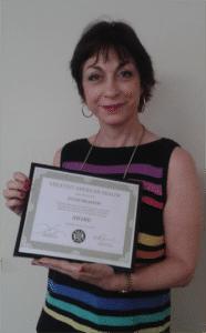 Sylvie Beljanski - Greatest American Healer Award - navel expo 2014