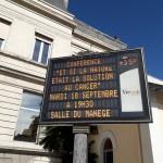 Vienne : Ma conférence fait l'affiche!