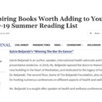 Jewish Journal Names Winning The War On Cancer as 25 Inspiring Books Worth Adding to Your COVID-19 Summer Reading List