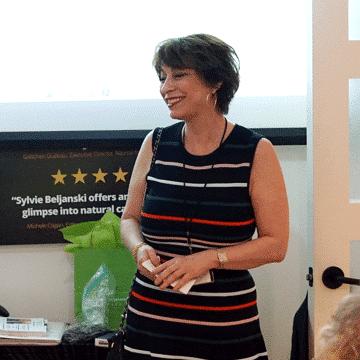 Sylvie Beljanski as a speaker